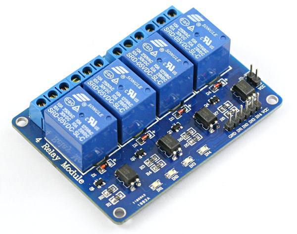 4-Channel 5V Relay Module for Arduino, Wenzhou Zhengke Electromotor Co.,Ltd
