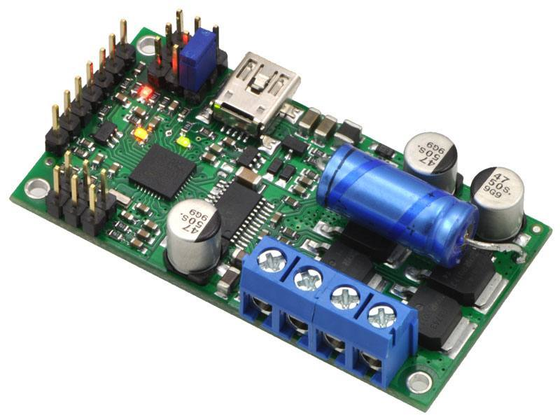 High-Power Motor Controller 24v23, Pololu Robotics and Electronics