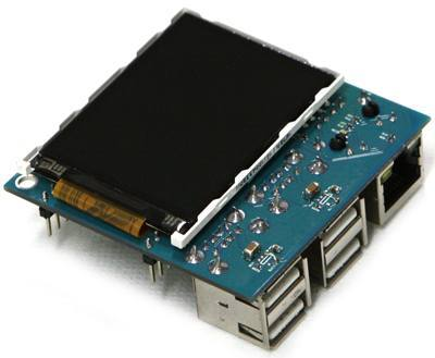 W Docking Board with TFT LCD, ODROID