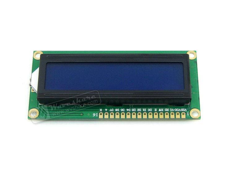 LCD1602 [3.3V Blue Backlight], Waveshare Electronics Ltd.