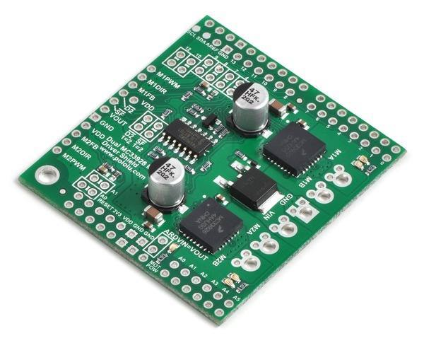 Pololu Dual MC33926 Motor Driver Shield for Arduino, Pololu Robotics and Electronics