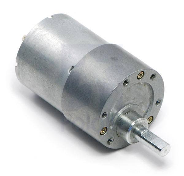 13.4:1 Metal Gearmotor 37Dx57L mm 6V 448RPM, Wenzhou Zhengke Electromotor Co.,Ltd