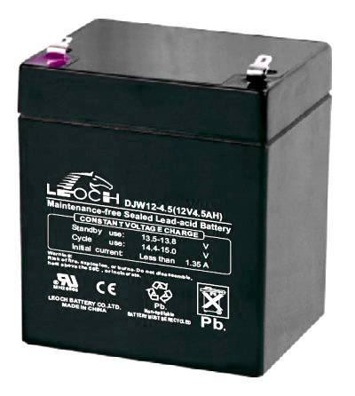 ACC 12V  4.5Ah DJW12-4.5, Leoch Battery Co.,Ltd.