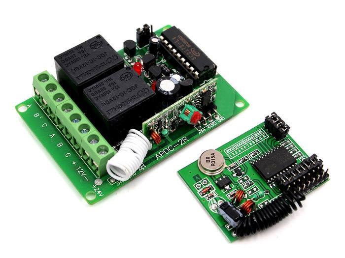315Mhz Remote Relay Switch Kits - 2 Channels, Seeed Technology Inc. (Seeeduino)