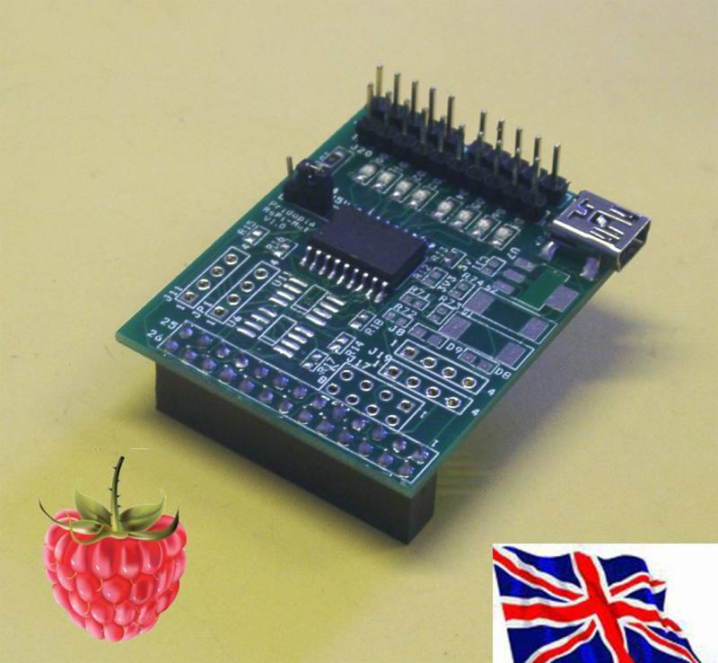2803-SP Step Motor board for Raspberry Pi, Pridopia Limited