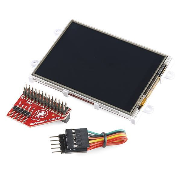 Display 3.2 Touchscreen LCD for Raspberry Pi, 4D Systems