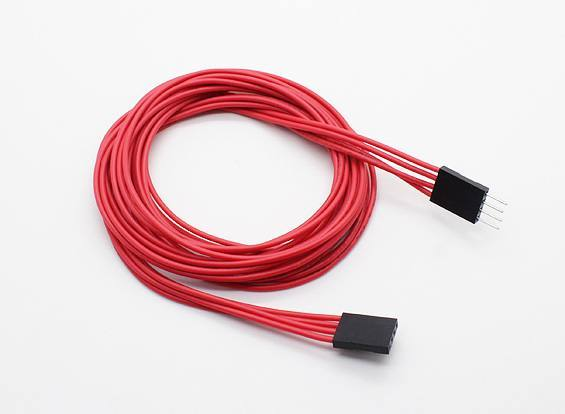 1000mm 4-pin Extension Cable for LED RGB Multi-Function Driver/Controller, HobbyKing