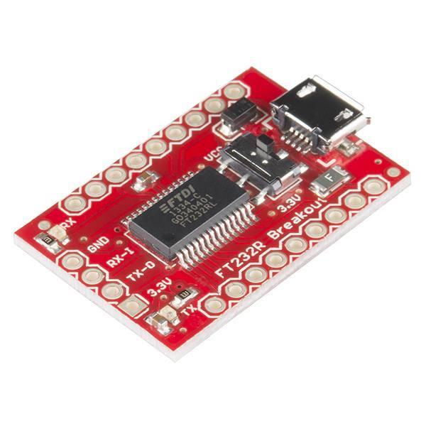 Breakout Board for FT232RL USB to Serial, SparkFun Electronics