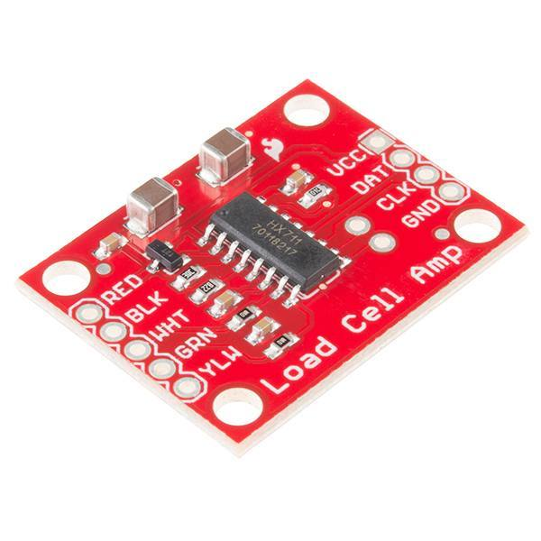 Load Cell Amplifier - HX711, SparkFun Electronics