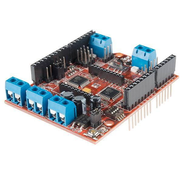 ComMotion Motor Driver Shield for 4 motors, DAGU Electronics