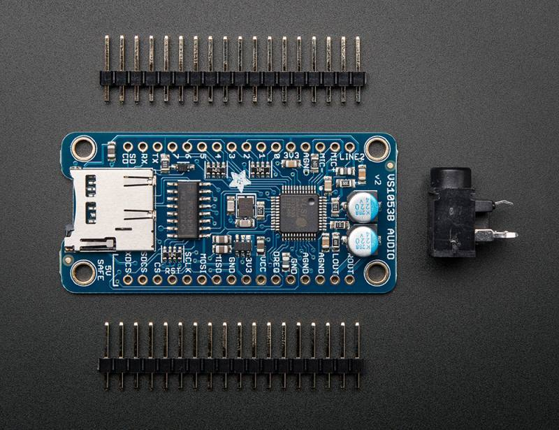 VS1053 Codec + MicroSD Breakout - MP3/WAV/MIDI/OGG Play + Record - v2, ADAFRUIT INDUSTRIES