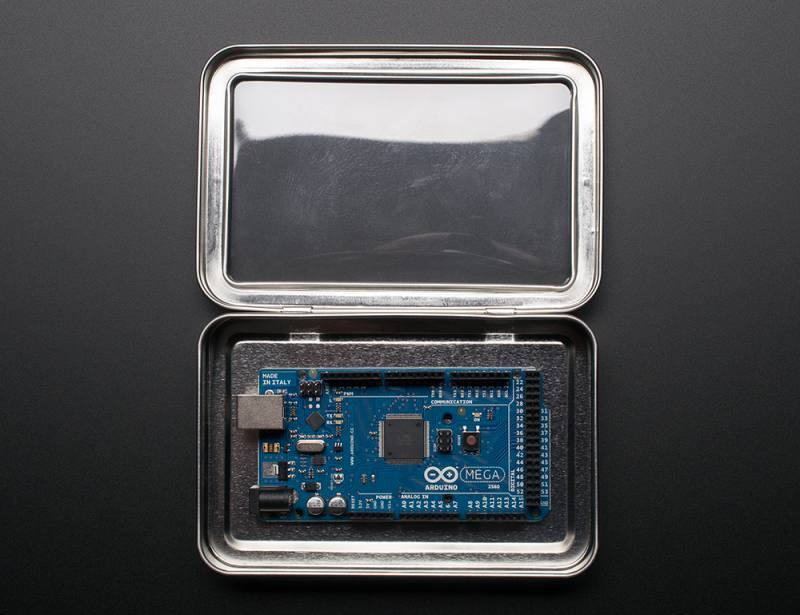 Large Tin With Clear Top Window, ADAFRUIT INDUSTRIES
