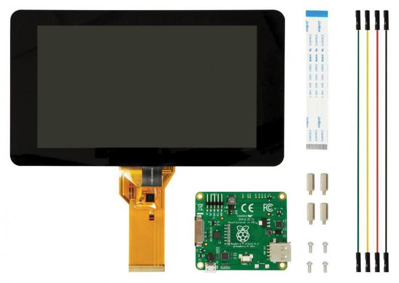 Raspberry Pi 7'' Touchscreen Display, Raspberry