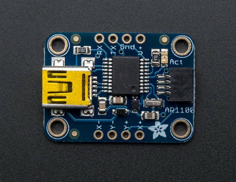 Resistive Touch Screen to USB Mouse Controller - AR1100, ADAFRUIT INDUSTRIES