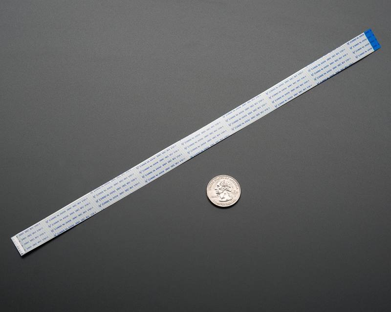 Flex Cable for Raspberry Pi Camera - 300mm, ADAFRUIT INDUSTRIES