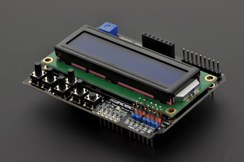 LCD Shield For Arduino, DFRobot