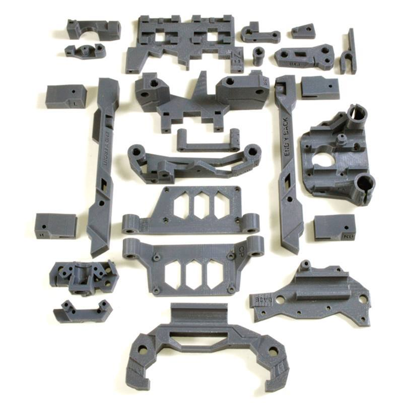 KIT 3D MC3 plastic parts Stealth, ������ ���
