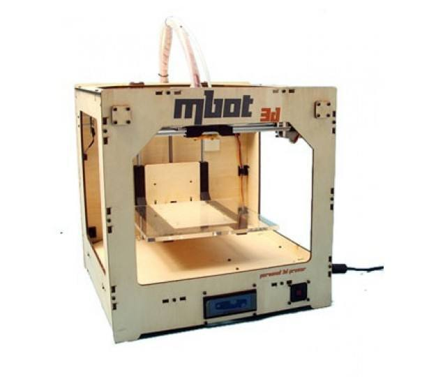 MBot Cube Plywood SH [Single Head], MBOT 3D