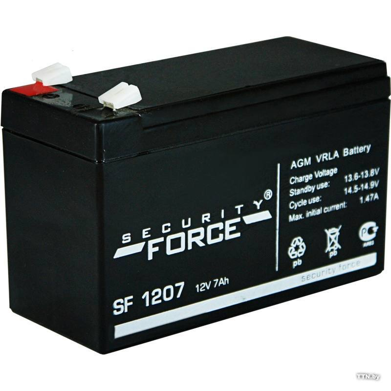ACC 12V 7Ah SF1207, Security Force
