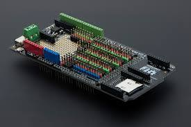 Mega Sensor Shield V2.4 [Compatible with Arduino Mega], DFRobot