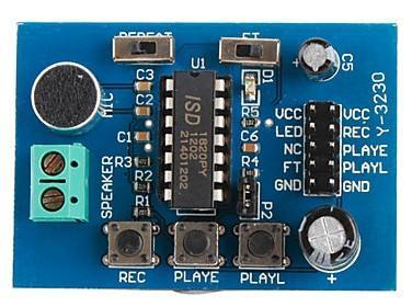 ISD1820 Sound Voice Board [Recording and Playback Module], Wenzhou Zhengke Electromotor Co.,Ltd