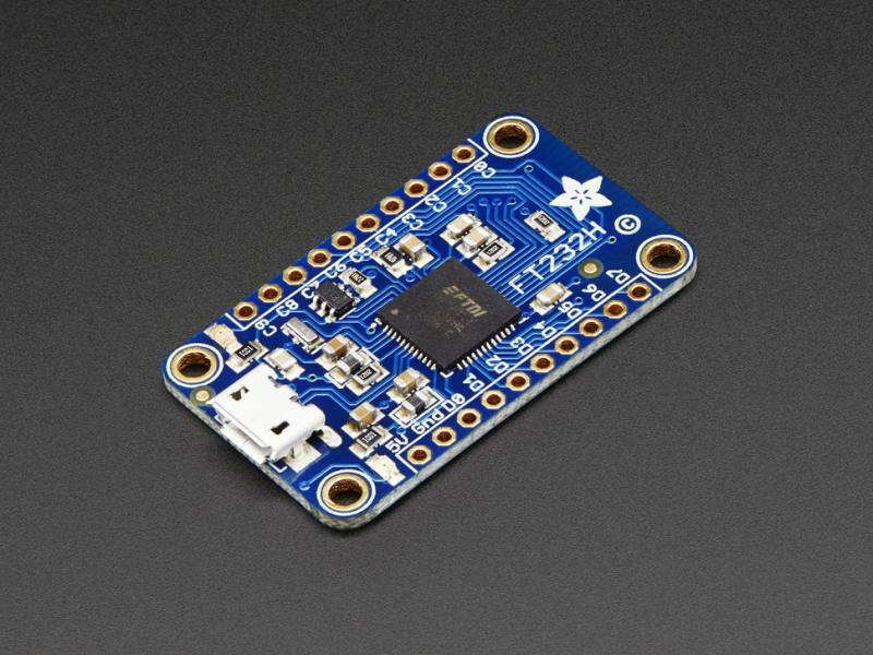 FT232H Breakout - General Purpose USB to GPIO+SPI+I2C, ADAFRUIT INDUSTRIES