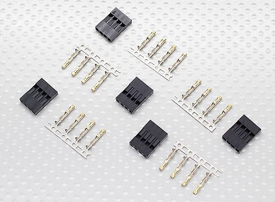 JWT connectors. 4 pin - 5set/bag, HobbyKing