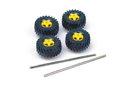70101 Truck Tire Set [4 tires], Tamiya, Inc