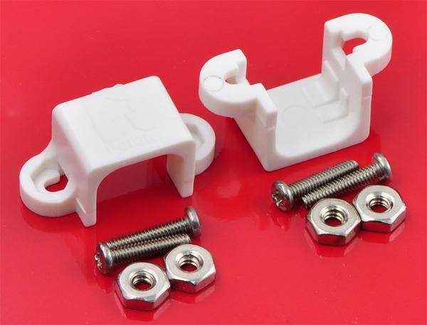 Micro Gearmotor Bracket Pair-1086, Pololu Robotics and Electronics