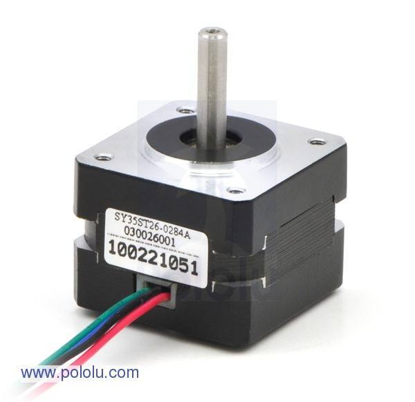 Stepper Motor:1207, Pololu Robotics and Electronics