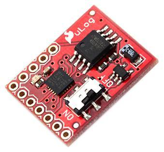 uLog 3-Channel Analog Datalogger, SparkFun Electronics