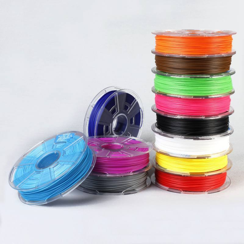 ABS plastic for 3D printer 1.75mm. 500g. [Fluorescence green], WUHU HANBOT ELECTRONICS TECHNOLOGY LTD