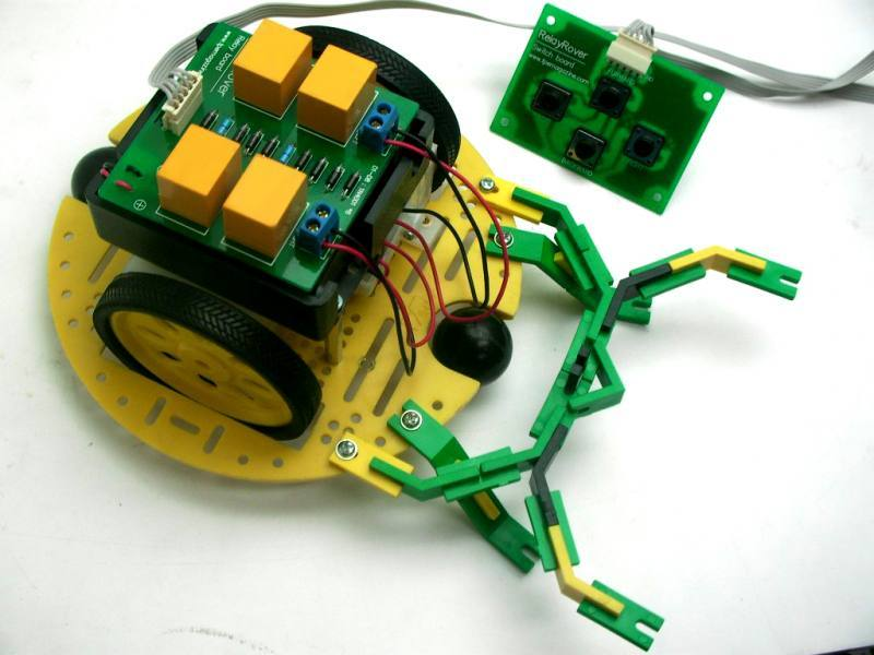 IE-R2BOT RELAY ROVER, Innovative Experiment Co.,Ltd.