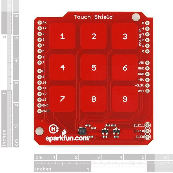 Touch Shield, SparkFun Electronics