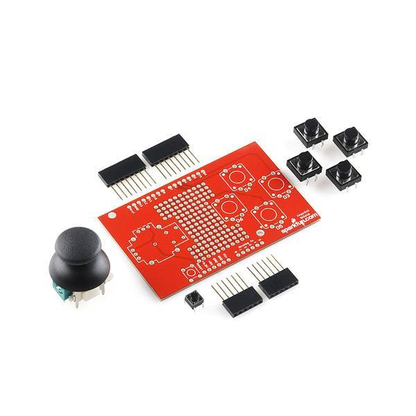 Joystick Shield Kit, SparkFun Electronics