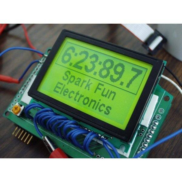 Graphic LCD 128x64 STN LED Backlight, SparkFun Electronics