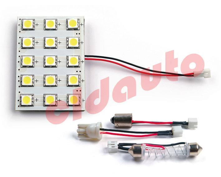 Лампа подсветки салона LED-L23C-15 под цоколь BA9S. W2.1x9.5D. SV8.5 [white], Changzhou CLD auto electrical Co., Ltd.