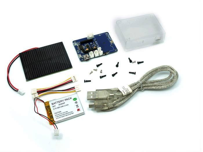 Wireless Sensor Node - Solar Kit, Seeed Technology Inc. (Seeeduino)
