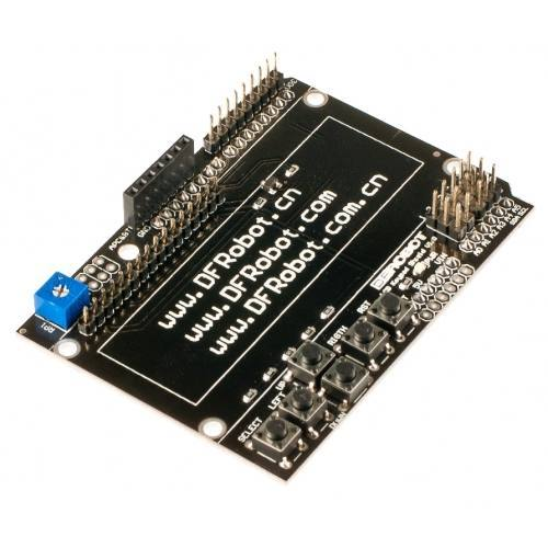 PCB of LCD keypad shield, DFRobot