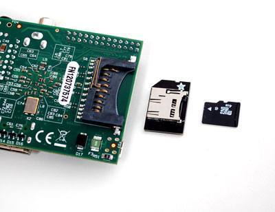 Low-profile microSD card adapter for Raspberry Pi, ADAFRUIT INDUSTRIES