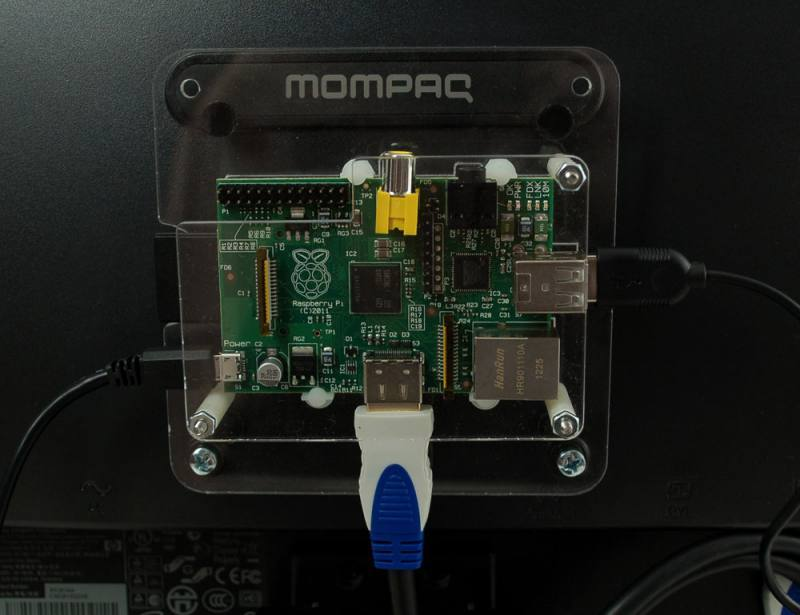 VESA mount for Raspberry Pi, ADAFRUIT INDUSTRIES
