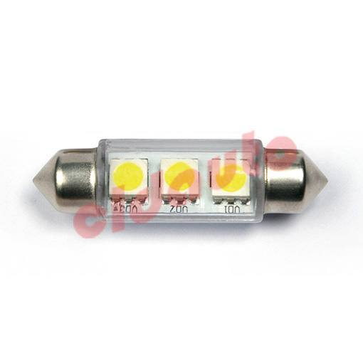 Лампа автомобильная LED-L2219 под цоколь SV8.5 C5W. FESTOON [white] 36mm BL2, Changzhou CLD auto electrical Co., Ltd.