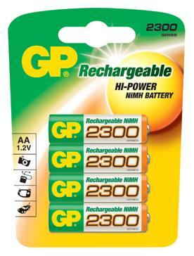 ACC 1.2V 2300mAh; 230AAHC-UC4, Gold Peak Batteries International Ltd.