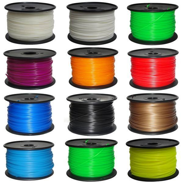 ABS plastic 1.75mm for 3D printers. 1000g. [Fluorescence green], WUHU HANBOT ELECTRONICS TECHNOLOGY LTD