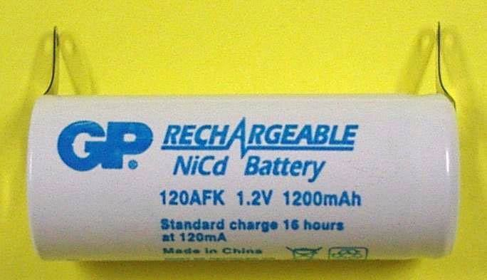 ACC 1.2V 1200mAh; 120AFK-B, Gold Peak Batteries International Ltd.