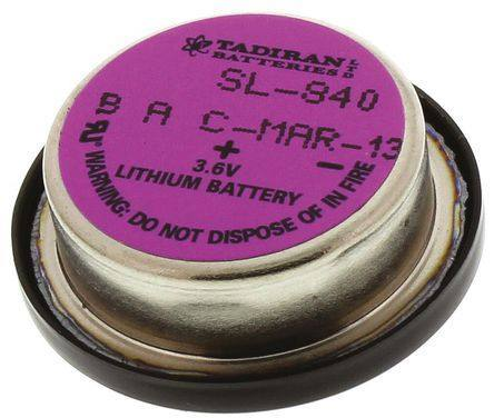 BAT [BEL] SL-840/P 3.6V, TADIRAN BATTERIES LTD.