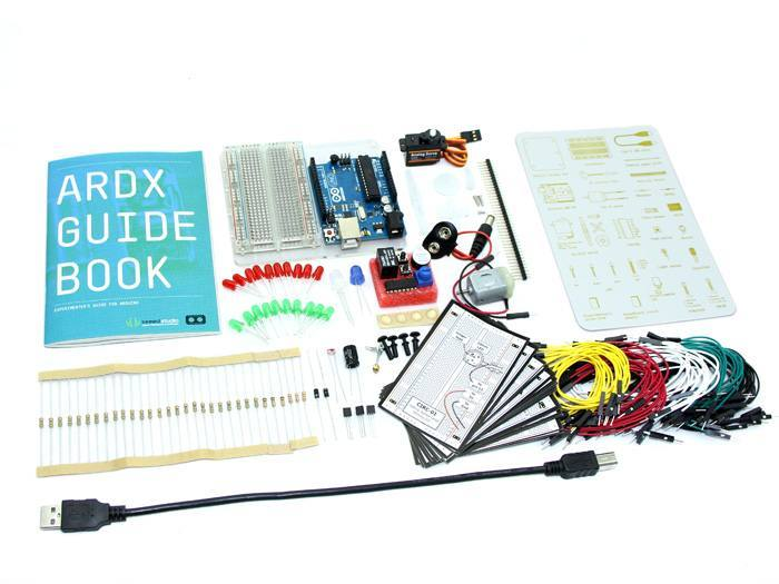 ARDX - The starter kit for Arduino, Seeed Technology Inc. (Seeeduino)