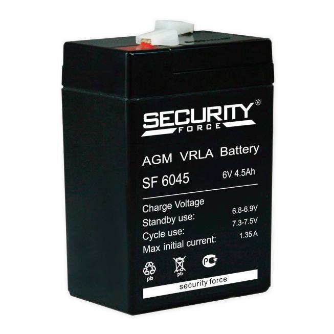 ACC 6V 4.5Ah SF6045, Security Force