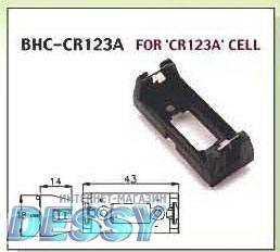 BAT/HOLD.CR123A BH-CR123A, Comfortable Electronic