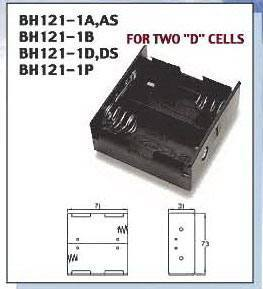 BAT/HOLD.Dx2 BH-121A, Comfortable Electronic
